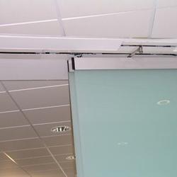 Geöffnete horizontale Schiebewand (Vollautomatisch)