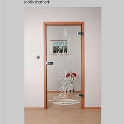 Tür Botanica mattiert