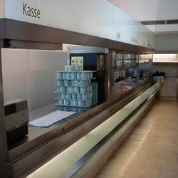Cafeteria Glas / Edelstahl