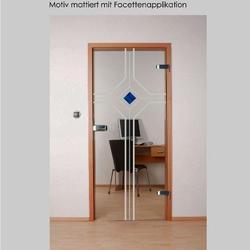Tür Sofia mattiert